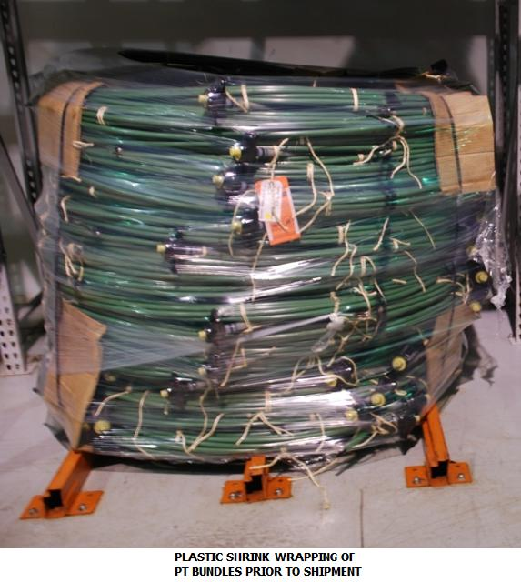 Unbonded Post Tensioning – Protection | AMSYSCO Post Tensioning